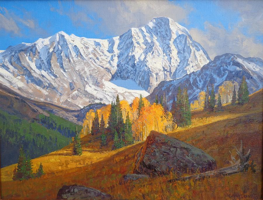 Landscape Painting - September Glow by Lanny Grant