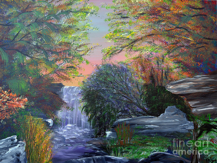 Autumn Painting - September Reverie by Alys Caviness-Gober