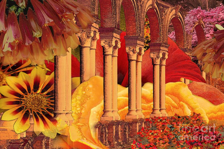 Columns Digital Art - Seville by Paul Gentille