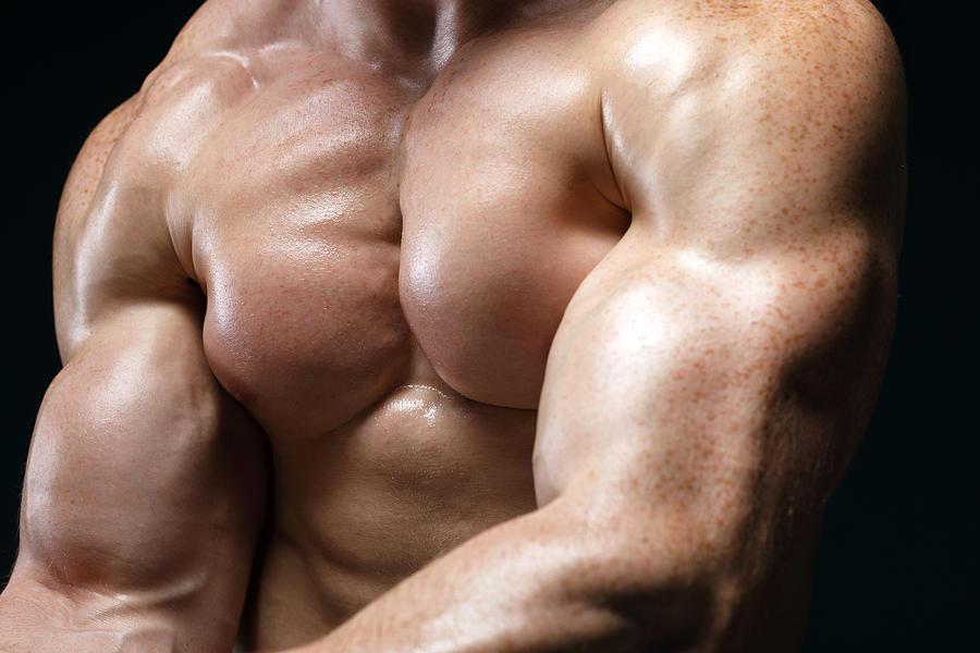 Sexy Muscular Bare Torso Photograph By Pavlo Kolotenko