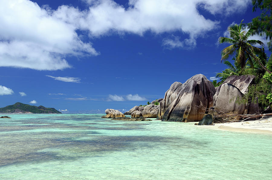 Seychelles Seascape Photograph by Alxpin