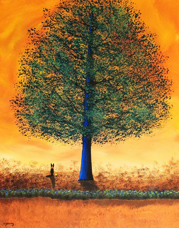 Shade Painting Shade Tree Paintingtodd Young