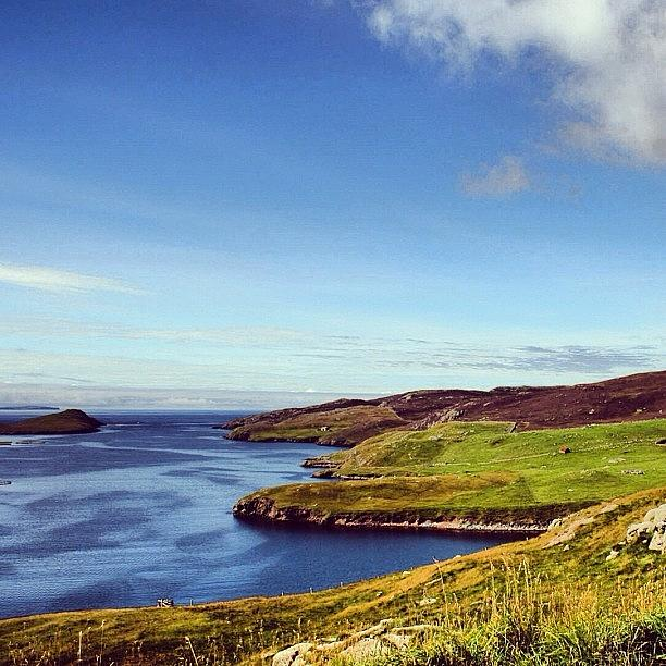 Outdoor Photograph - Shetland Islands - Scotland by Luisa Azzolini