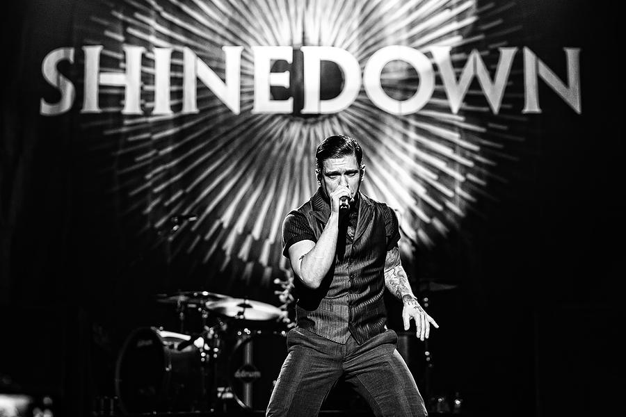 Shinedown  Brent Smith Photograph