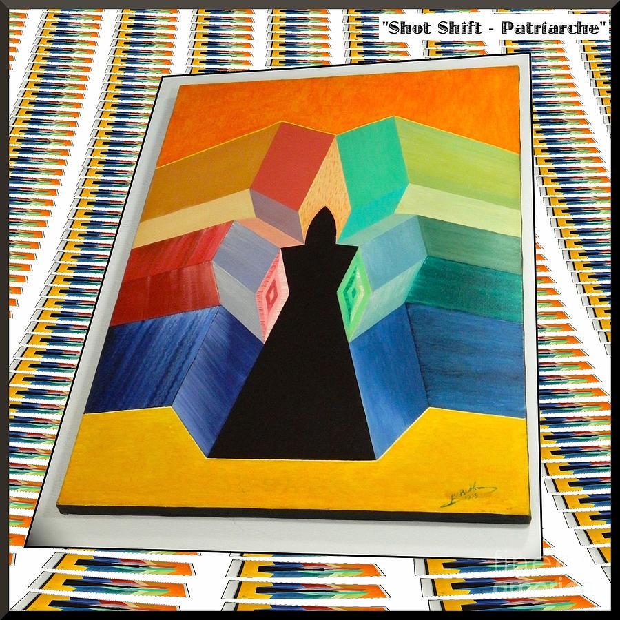 Shot Painting - Shot Shift - Patriarche Variant by Michael Bellon