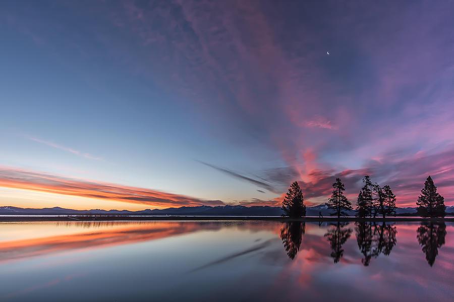 Artwork Photograph - Silver Moon by Jon Glaser