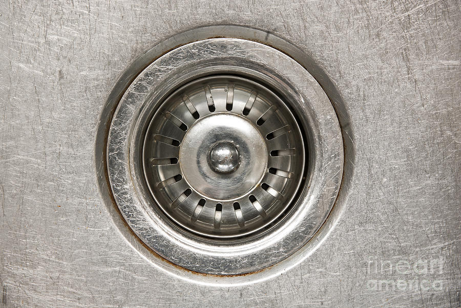 Background Photograph - Sink Plug by Tim Hester