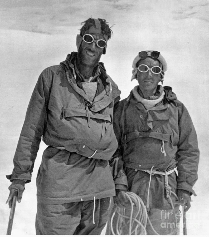 1953 Photograph - Sir Edmund Hillary by Granger