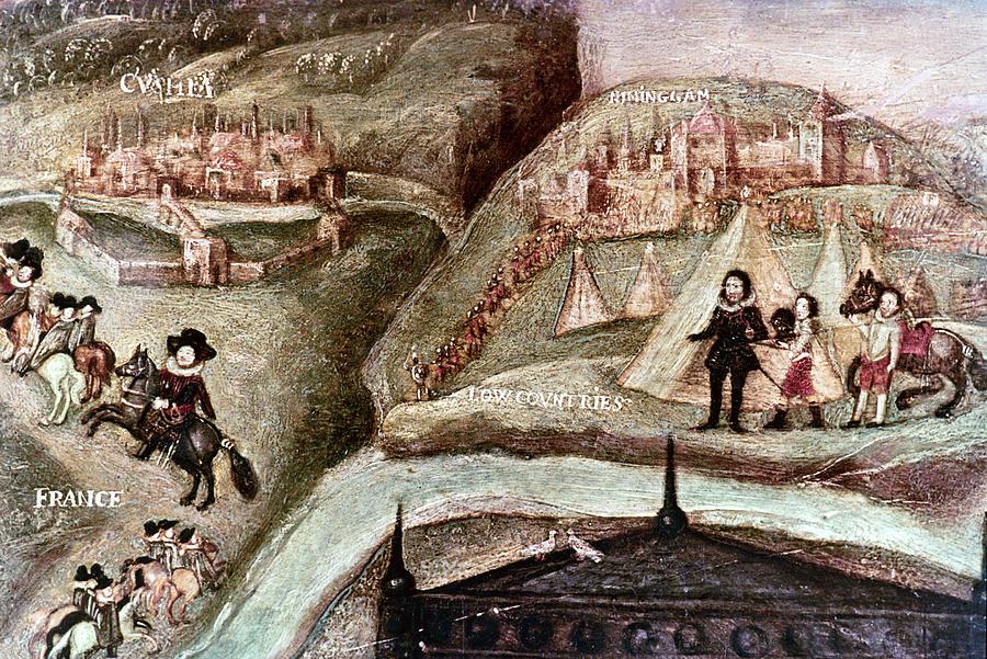 1595 Painting - Sir Henry Unton (c1557-1596) by Granger