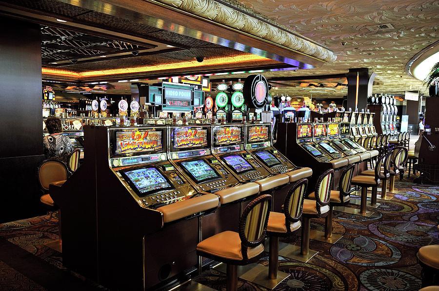 Addicted Photograph - Slot Machines 1 by Bildagentur-online/mcphoto-schulz