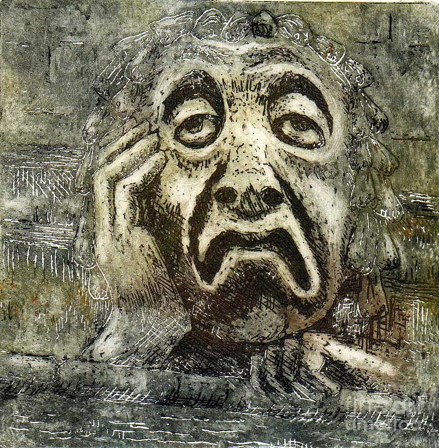 Gargoyle Relief - Sloth by Suzette Broad
