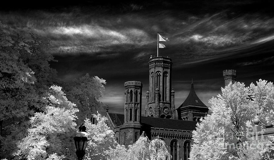 Smithsonian Photograph - Smithsonian Castle by Mike Kurec