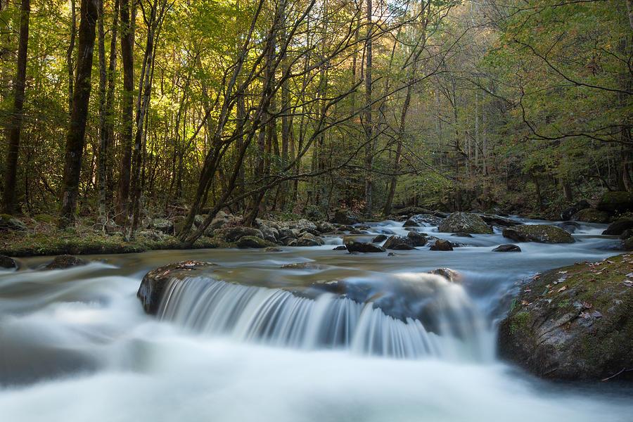 Water Photograph - Smoky Mountain Stream by Doug McPherson