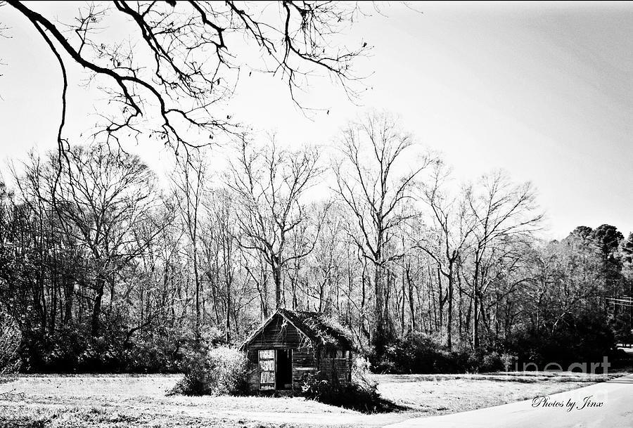 Old Barn Photograph - Solitude  by Jinx Farmer