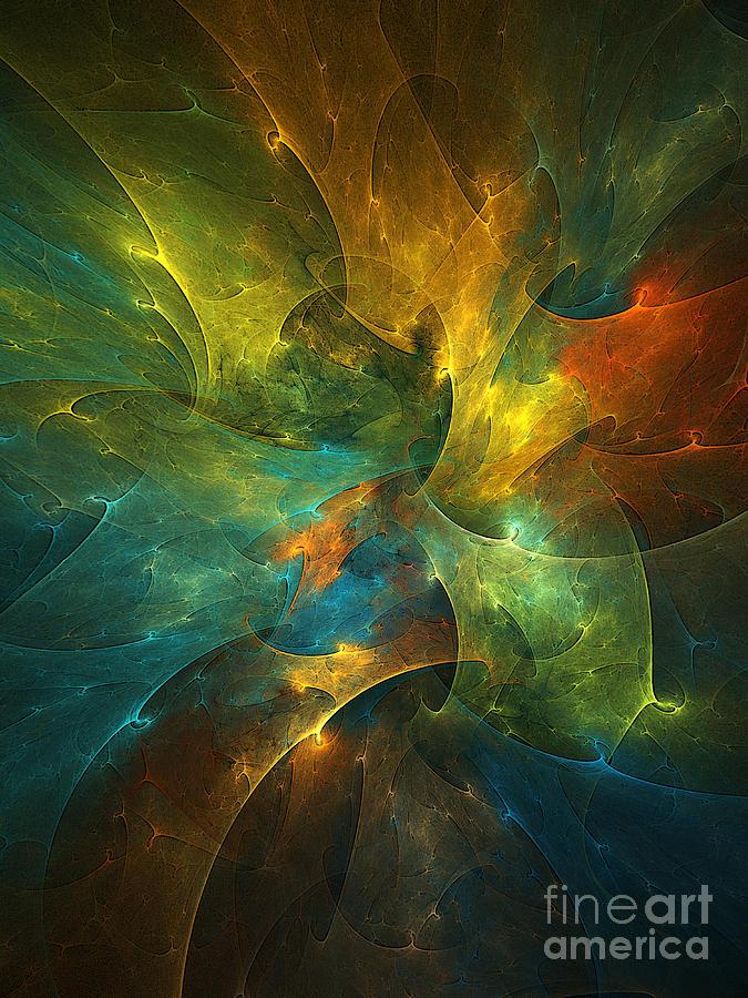 Universe Digital Art - Somewhere In The Universe by Klara Acel