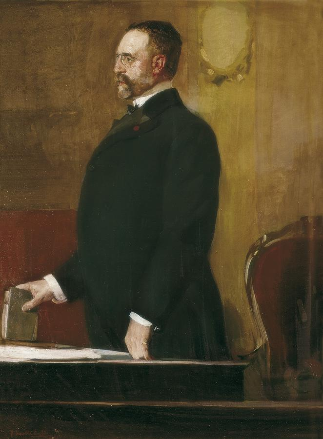 Portrait Photograph - Sorolla, Joaqu�n 1863-1923. Portrait by Everett