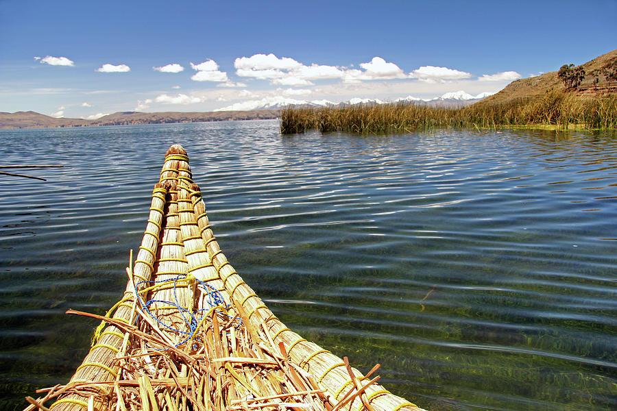 Aymara Photograph - South America, Bolivia, Lake Titicaca by Kymri Wilt