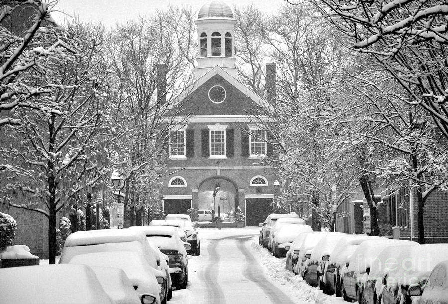 Society Hill Photograph - South Street Headhouse  by Andrew Dinh