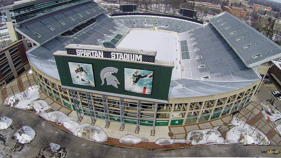 Spartan Stadium Photograph By John Mcgraw