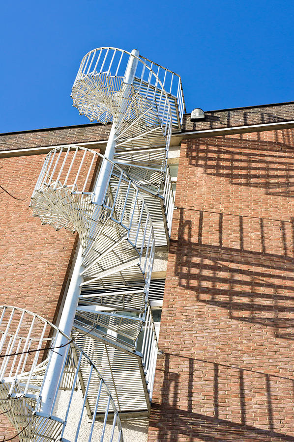 Abstract Photograph - Spiral Staircase by Tom Gowanlock