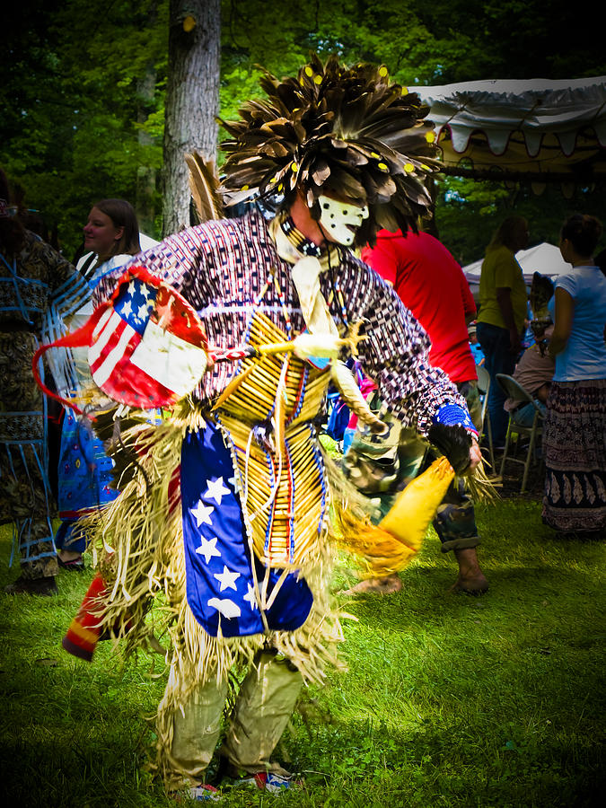 Native American Photograph - Spirit Dancer by Andrea Floyd