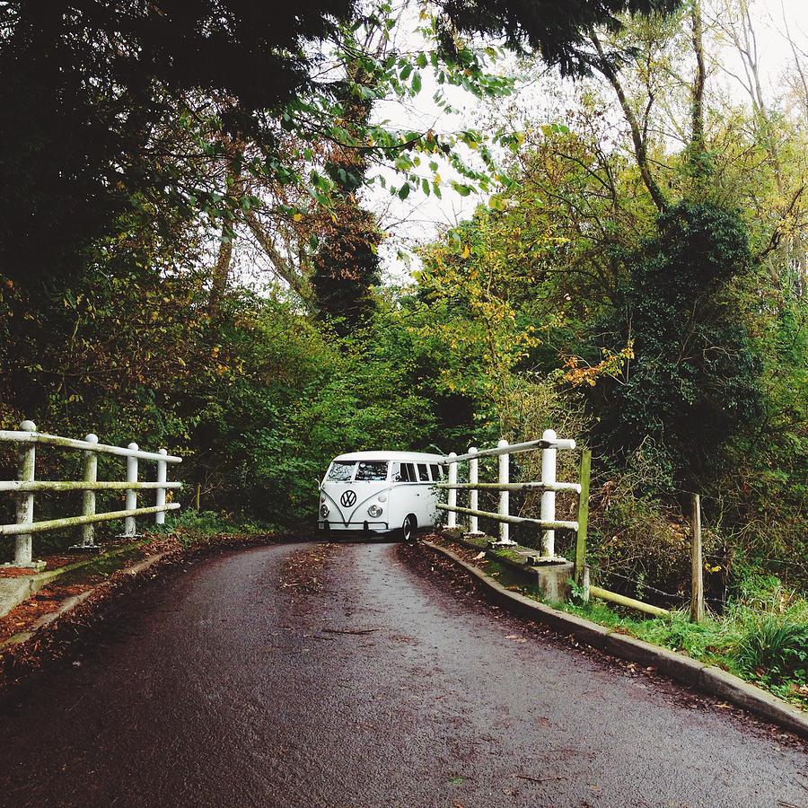 Automobile Photograph - Splitscreen Over Tewin Bridge by Gemma Knight