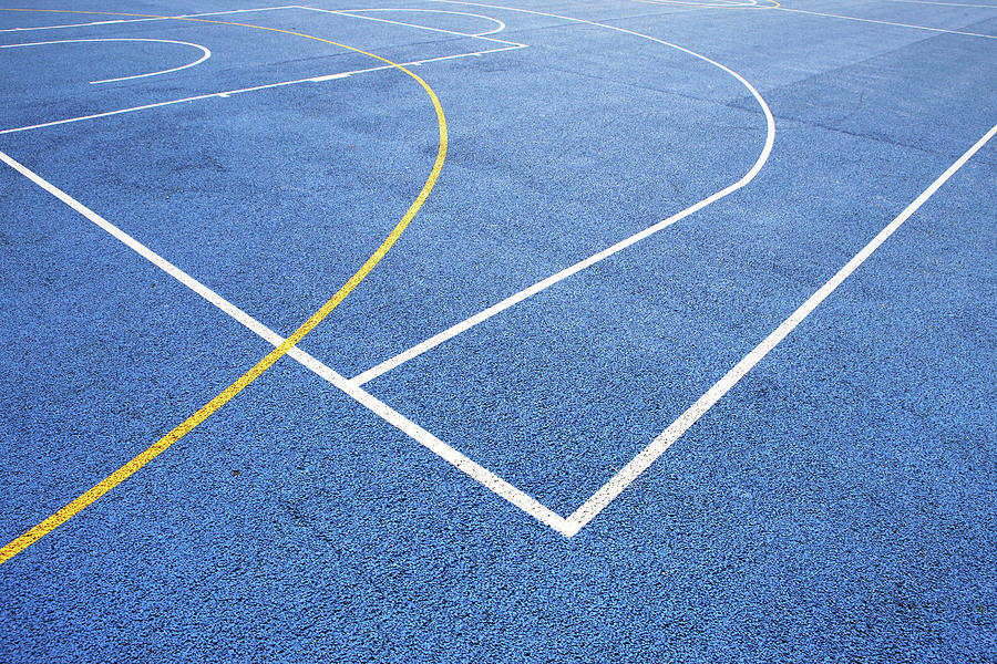 Sports Court Photograph by Richard Newstead