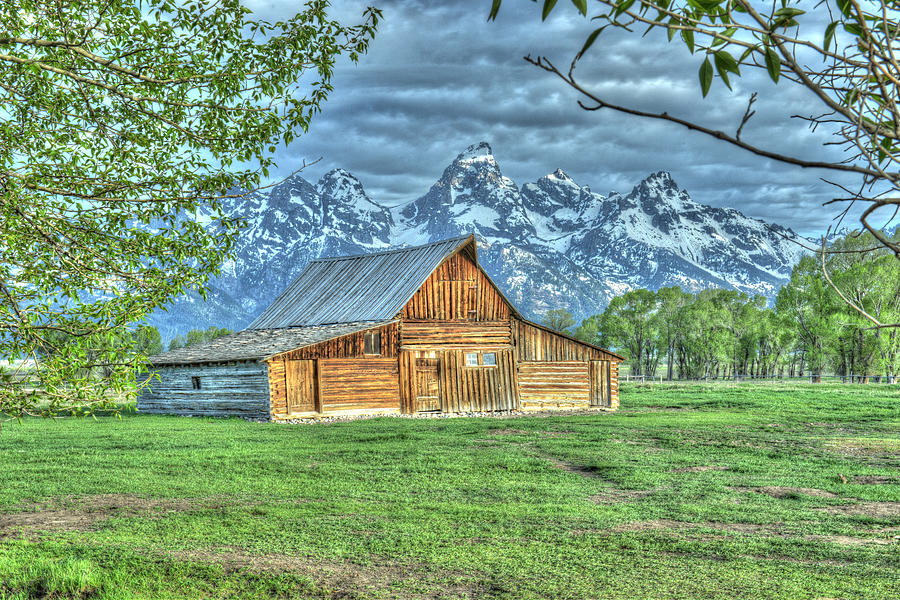 Spring Barn by David Armstrong