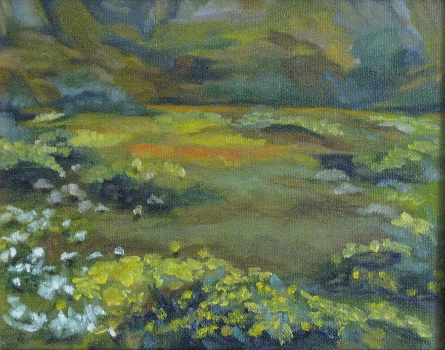 Plein Air Painting - Spring Color by Terry Sonntag