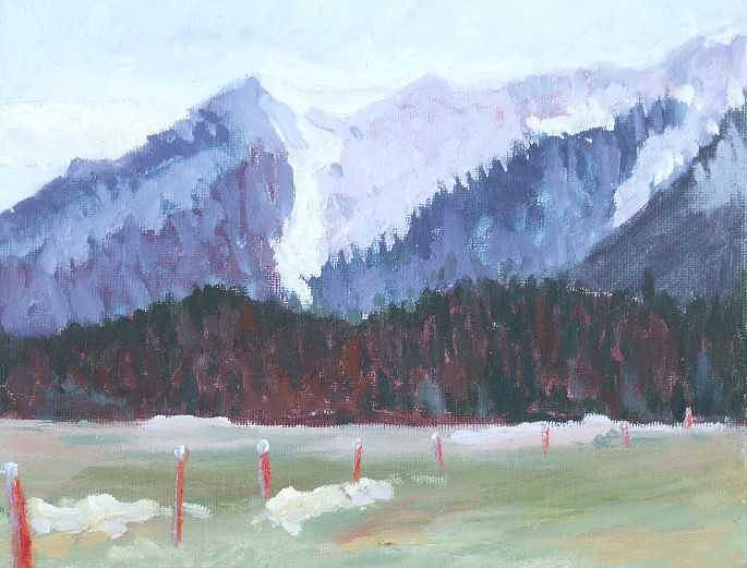 Spring Thaw Painting by Raymond Kaler