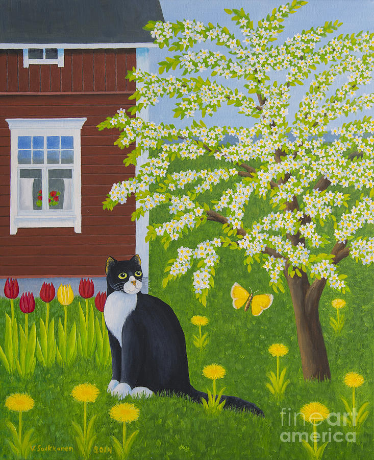 Animal Painting - Spring by Veikko Suikkanen