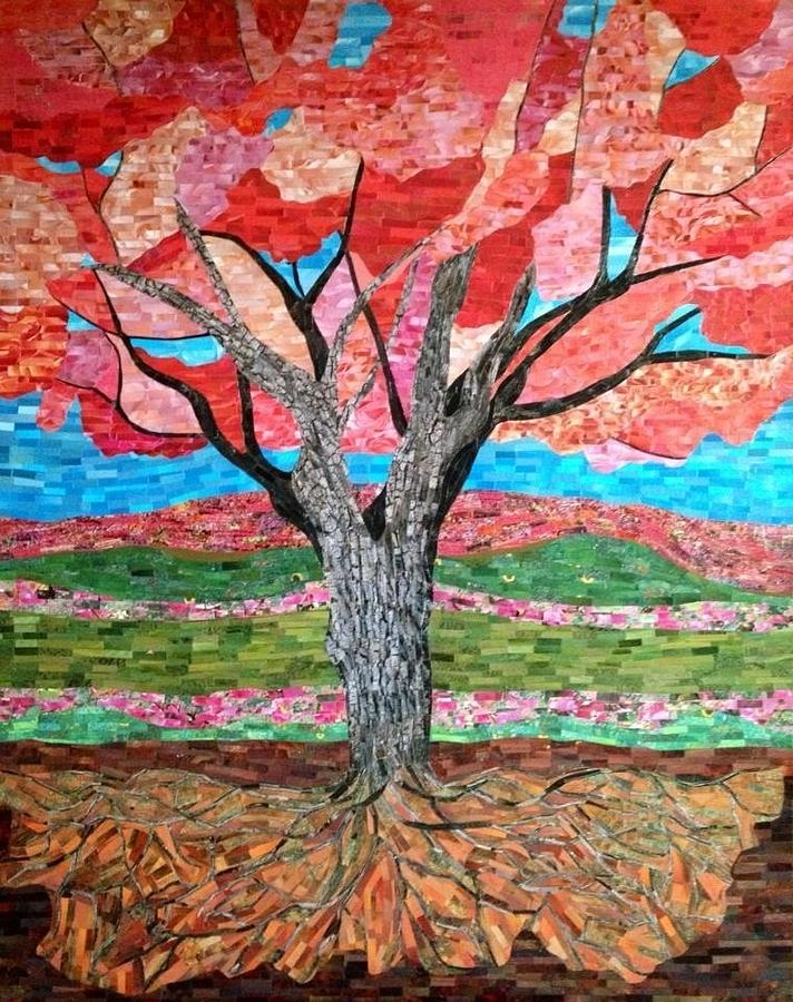 Tree Painting - Springtime  by Claudia French