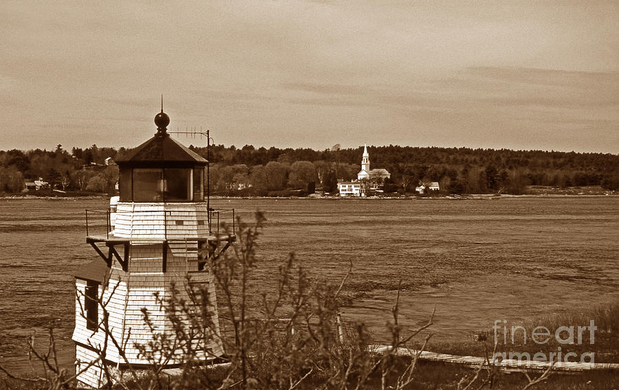 Squirrel Point Lighthouse Photograph