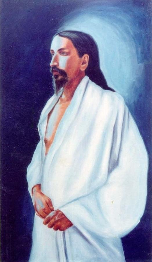Sri Aurobindo Painting - Sri Aurobindo  by Shiva Vangara
