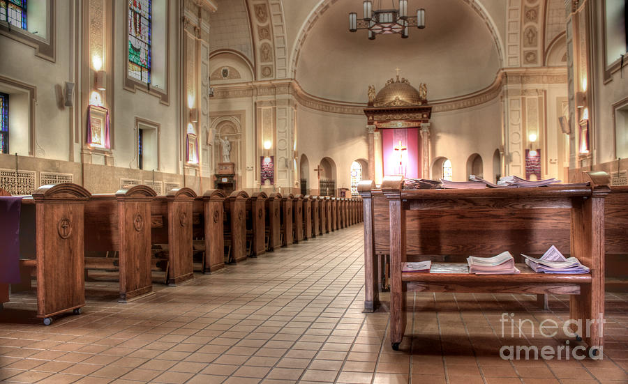 Hdr Photograph - St. Francis Xavier by David Bearden