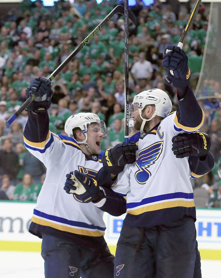 St Louis Blues V Dallas Stars - Game Two Photograph by Tom Pennington