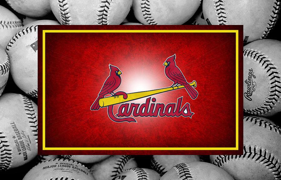 St Louis Cardinals Photograph - St Louis Cardinals by Joe Hamilton