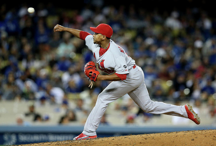 St Louis Cardinals V Los Angeles Dodgers Photograph by Stephen Dunn