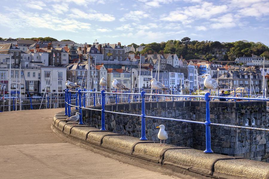 City Photograph - St Peter Port - Guernsey by Joana Kruse