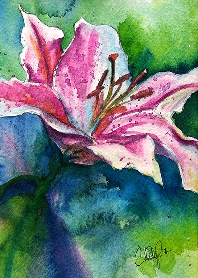 Star Gazer Lilly by Christy Freeman Stark