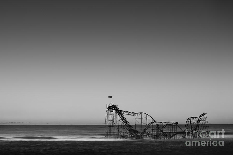 Michael Photograph - Star Jet Roller Coaster Hdr by Michael Ver Sprill