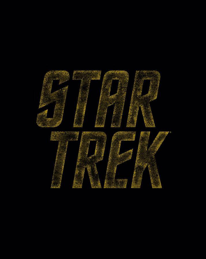 Star Trek Digital Art - Star Trek - Distressed Logo by Brand A