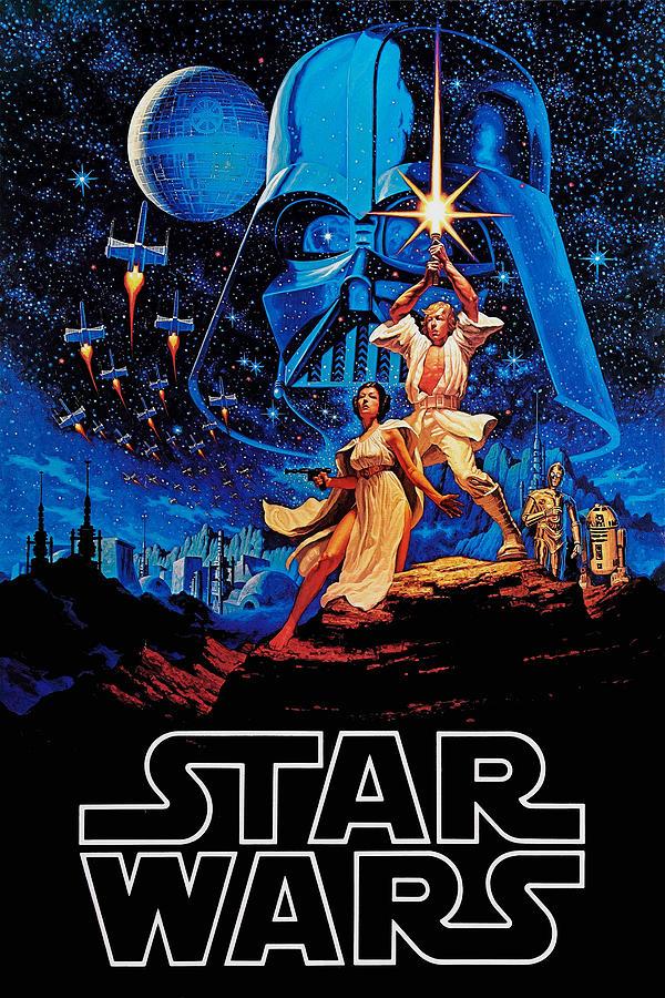 Star Drawing - Star Wars by Farhad Tamim