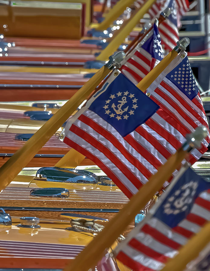 American Flag Photograph - Stars And Stripes by Steven Lapkin
