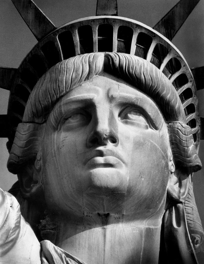 Aegis Photograph - Statue of Liberty by Retro Images Archive