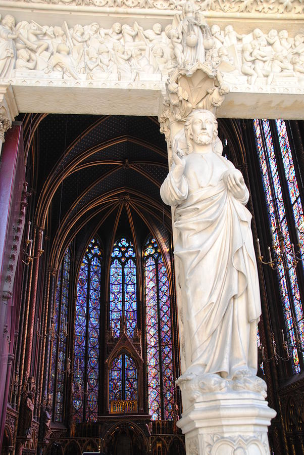 Ste.-chapelle Photograph by Jacqueline M Lewis