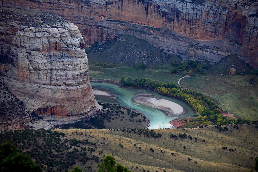 Overlook Photograph - Steamboat Rock by Darryl Wilkinson
