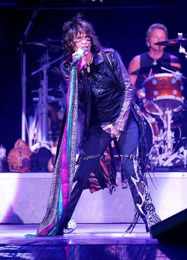 Don Olea Photograph - Steven Tyler Aerosmith by Don Olea