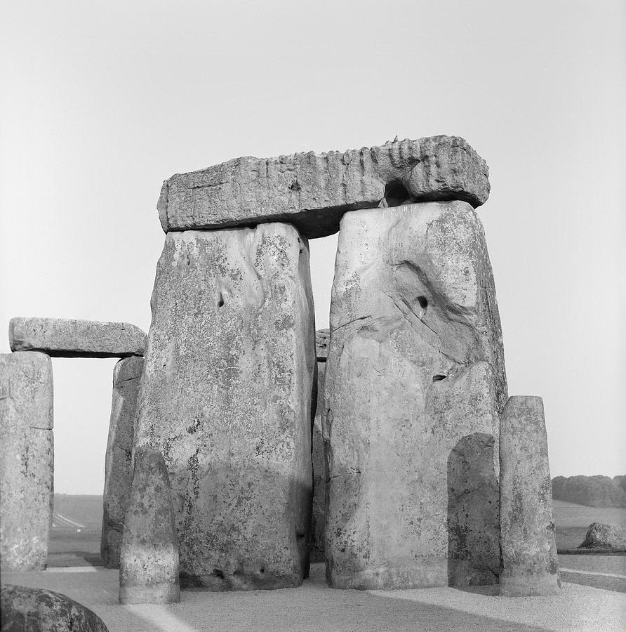 Stone Photograph - Stonehenge by Anonymous