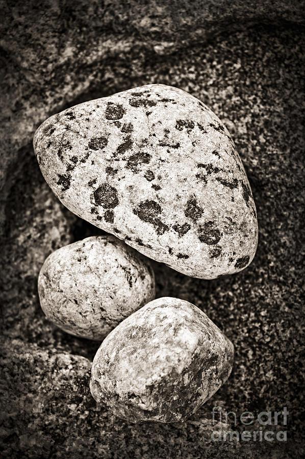 Stone Photograph - Stones by Elena Elisseeva